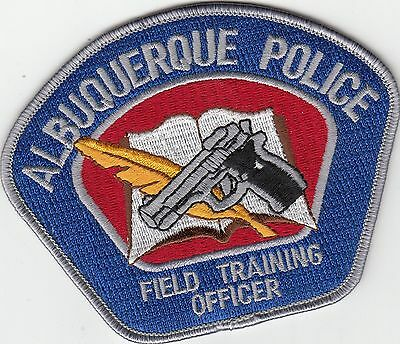 Albuquerque Police Fto Field Training Officer Patch New Mexico Nm