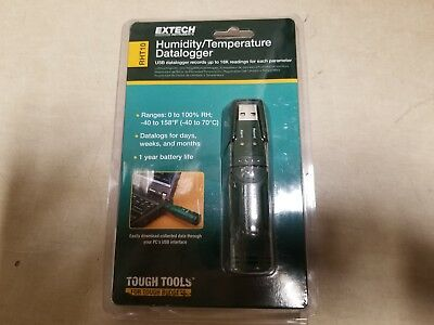 Extech RHT10 Humidity And Temperature USB Datalogger Temperature and Humidity