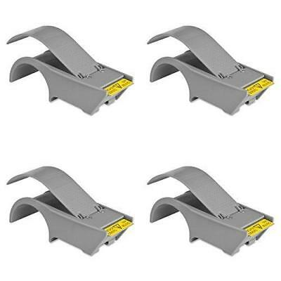 """Sparco Package Sealing Tape Dispenser, 2"""" x 3"""" Core, 4 Packs"""