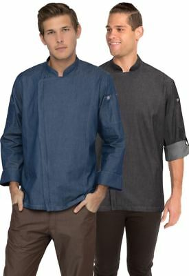 Chef Works Gramercy Chef Coat - Urban Collection - Mens 3XL - Black - NWT