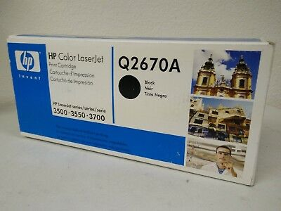 HP 2670A OEM SEAED BOXES THESE ARE ORIGINAL HP 3500 3700 TONERS