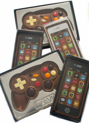 CHOCOLATE NOVELTY / iPHONE / SMARTPHONE / GAMES CONTROLLER XMAS GIFT FUN