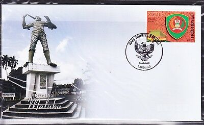 Indonesia Provinces 2008 Maluku First Day Cover