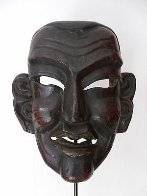 Antique Monpa Mask Tibet Himalaya China, tibetan mask