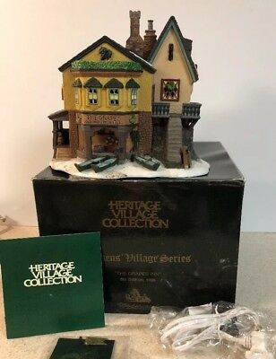 Dept 56 Dickens Village The Grapes Inn #57534 Boat Ales New In Box