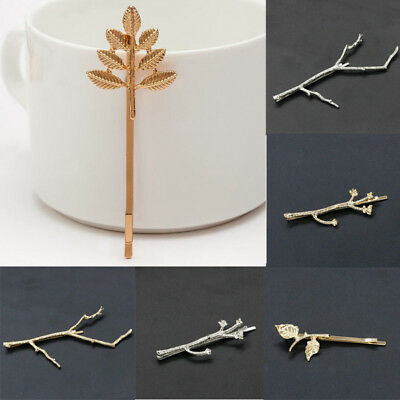 Metal Tree Branch Hairpins Fascinator Accessories Clip Bobby Pins Hair Gift