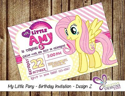 image about My Little Pony Printable Invitations named MY Small PONY Birthday Invitation - Custom-made - Electronic Printable Report