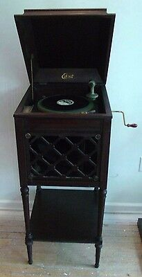 Edison A100 Disk Phonograph - working condition