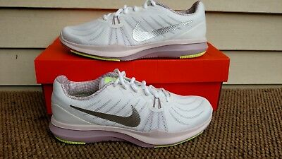 Nike Womens In Season Tr7 Running Casual Sneaker White Silver Size 8 New