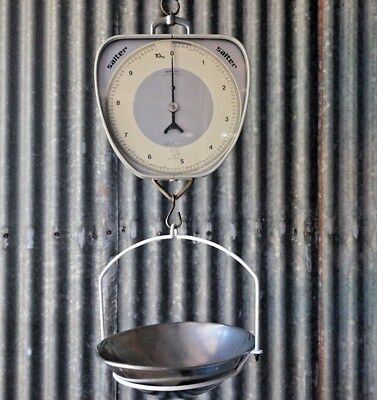 Salter Industrial Analog Scale Double Sided MAX 10kg Model 237 T Made Australia