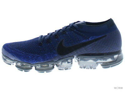 be689f56cdf3 NIKE AIR VAPORMAX FLYKNIT 849558-400 college navy black-game royal Size 9.5