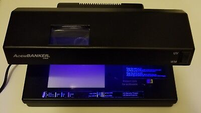 AccuBANKER D64 Counterfeit Money Detector (UV/MG/WM/MP)