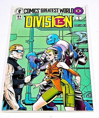 DIVISION 13 #1 Sept 1993. Dark Horse Comics VF/NM