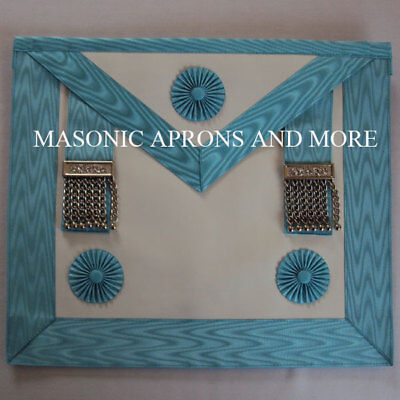 Masonic Craft Master Mason Apron with Pocket (Imitation)