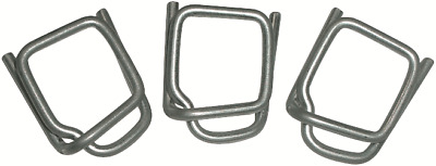 IWD Strapping WIRE BUCKLES 12mm 1000Pcs Suitable For Polypropylene Strapping