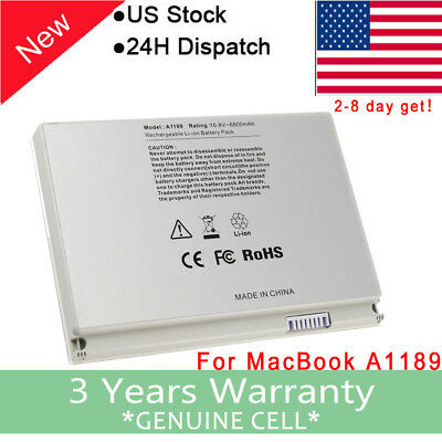 New Battery for Apple MacBook Pro 17 inch A1189 A1151 A1229 A1261 2006 2007 2008