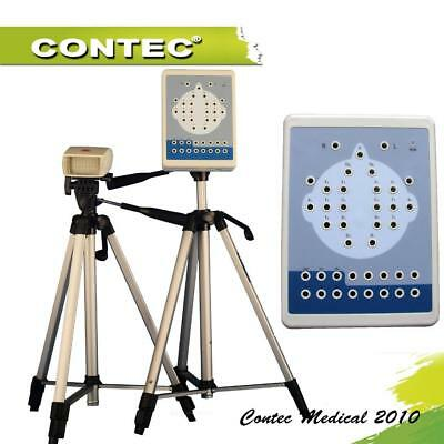 Contec KT88 16-Channel Digital EEG Machine& Mapping System PC Software+Tripod