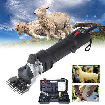 320W Electric Pet Sheep Shearing Clipper Wool Goat Alpaca Grooming Farm Supply