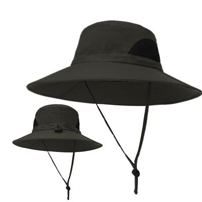 89156a30aaf Tactical Boonie Hat Military Bucket Wide Brim Sun Fishing Outdoor Hiking  Cap Hat