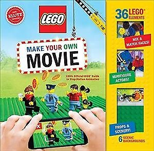 Lego Make Your Own Movie, Paperback by Klutz (COR)