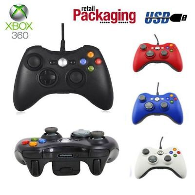Wired USB Game Pad Controller For Microsoft Xbox 360 Console / PC Windows 7 XPMX