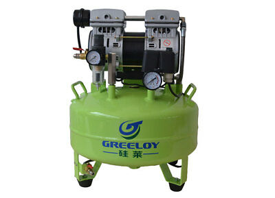 Greeloy Dental Noiseless Oil Free Oilless Air Compressor GA-61 TK