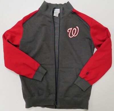 KIDS WASHINGTON NATIONALS Authentic Mlb Jersey Youth Xl Red Majestic ... 8bdf3b409
