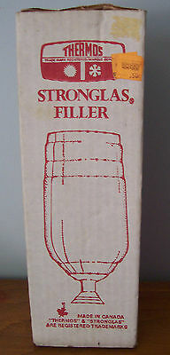 Vintage Thermos Brand Stronglas Replacement Filler - 64F - Made In Canada