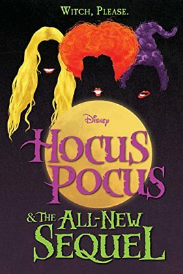 Hocus Pocus and the All-New Sequel by A. W. Jantha 2018 English Hardcover NEW