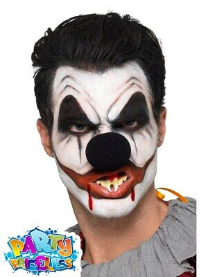 killer clown face paint cosmetic kit circus halloween makeup fx adult kids