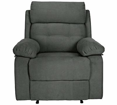 Pleasing June Fabric Manual Recliner Chair Charcoal 149 00 Alphanode Cool Chair Designs And Ideas Alphanodeonline