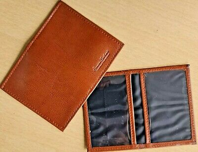 Credit Card, Travel Pass, Oyster ID Holder Genuine Leatherite