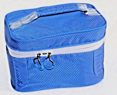 Lunch box blue insulated cooler , EMBARK,   USA Seller