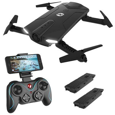 Holy Stone HS160 Drone Selfie WIFI FPV 720P HD Camera Foldable RC Quadcopter