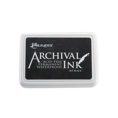 Ranger Archival Ink #0 Pad | Jet Black