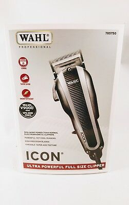 WAHL ICON Ultra Powerful Full Size Styling Hair Clipper Trimmer Shaver NEW NIB