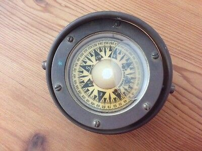 Antique C. Plath Hamburg, Germany Nautical Compass