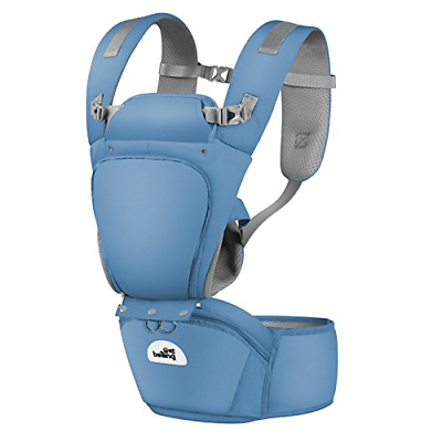 Baby Carrier with Hip Seat, Removable 6-in-1 multifunctional adjustable carriers