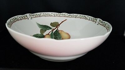 "Noritake Primachina Royal Orchard Vegetable  Round Bowl  8 3/4""D 3""H  #9416"