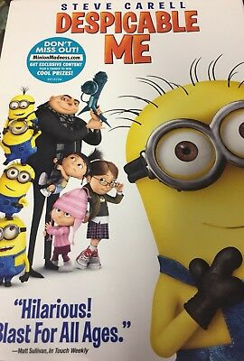 Chris Renaud's-DESPICABLE ME-2010-DVD-Widescreen-Slipcover-NEW