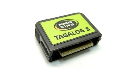 Magic Sing Tagalog 3 Cartridge Chip For LP000012 Console
