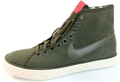 6bbc97244451 Nike Primo Court Women's Mid-Top Sneakers Olive Green Shoes Msrp $75 336 []