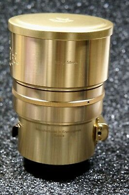 Lomography Petzval 58mm f/1.9 for Nikon F Mount Art Lens with Bokeh Control Gold