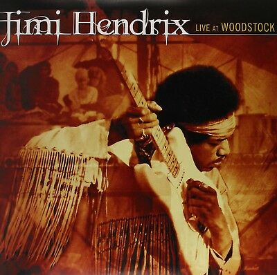 "Jimi Hendrix ""live At Woodstock"" 3 Lp Vinyl New"