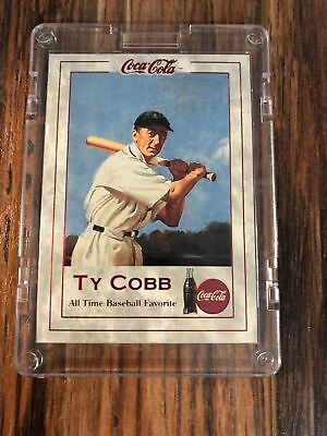 Coca Cola Collect-A-Card1993 Series 1 Ty Cobb TC-1 All Time Baseball