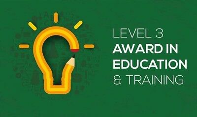 Level 3 Award in Education and Training AET Deluxe package exemplar assignment