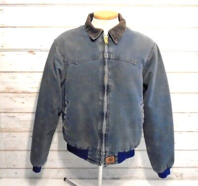CARHARTT Workwear Vintage 90's Thick Canvas Insulated Chore Jacket Mens M REG 28