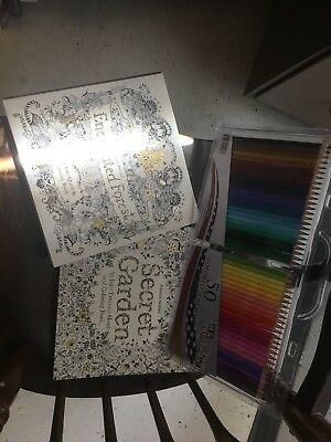 Enchanted Forest An Inky Quest And Colouring Book By Johanna Basford 2015