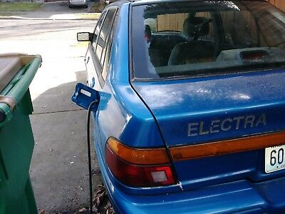 1995 Ford Escort LX 1995 Ford Escort Converted PLUG IN ELECTRIC VEHICLE
