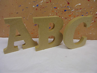 """18mm mdf wooden freestanding letters 4"""",6"""",8"""",10""""12 ACCORD FONT CHEAPEST ON EBAY"""